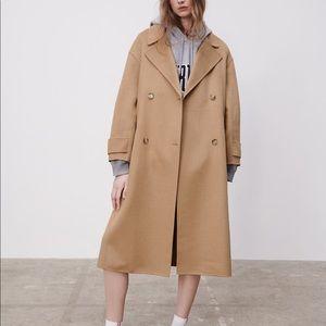 Zara Wool Blended Coat